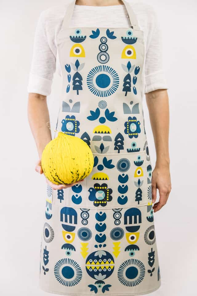 Winter solstice apron