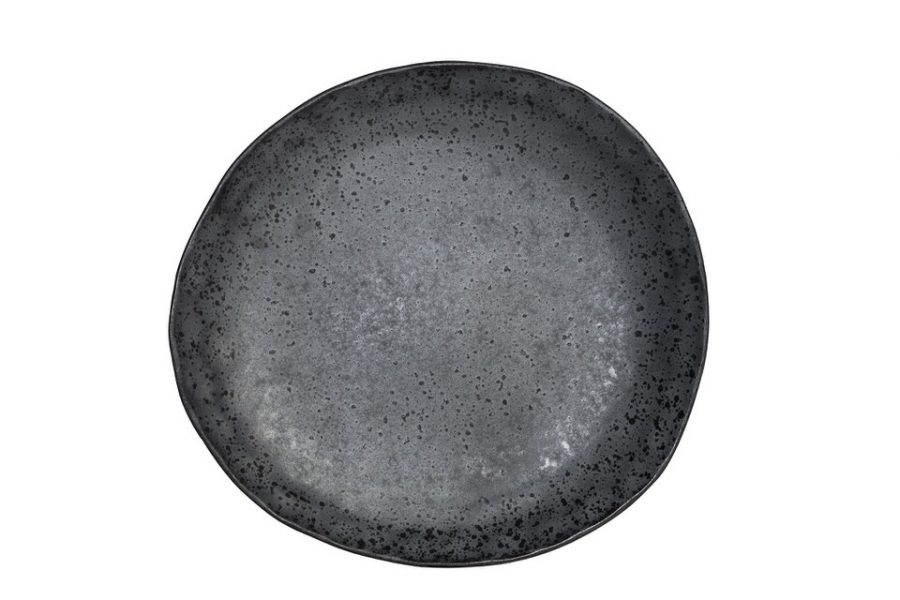 Plain aerial shot of Shervin Verkil side plate
