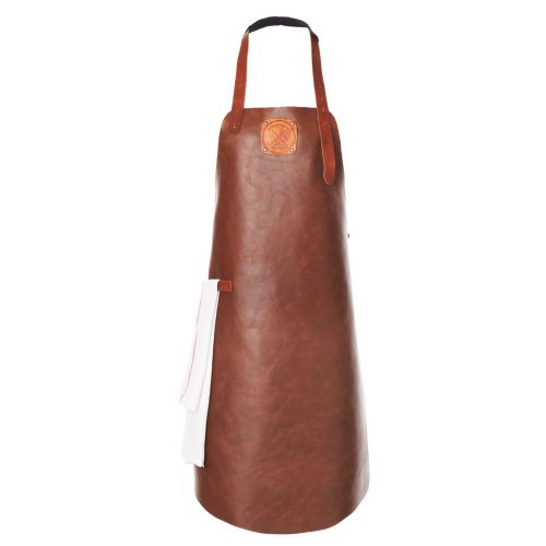WITLOFT Unisex Leather Apron in Cognac