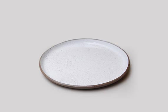 Sofia Ceramics product shot of the Goose egg ceramic dinner plate
