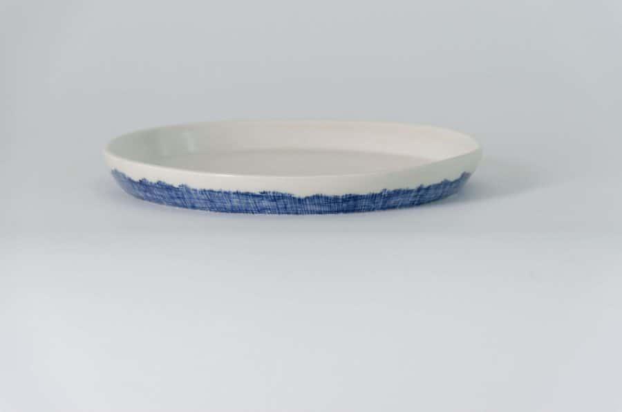 Product shot of Hessian Porcelain Plates