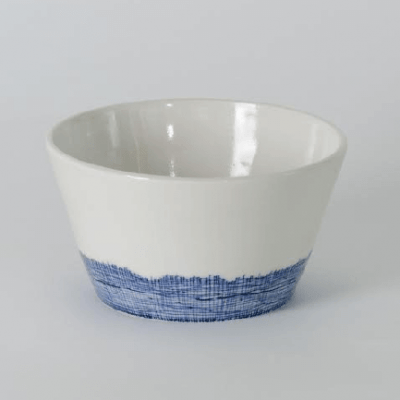 Product shot of Hessian Porcelain Serving Bowls