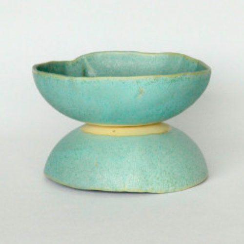 'Apple Blue Sea Green' serving bowls