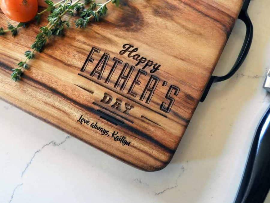 Fathers Day natural edge medium board _ closeup