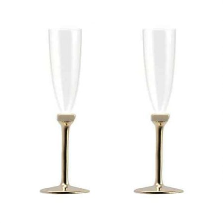 Gaby champagne glass set of two