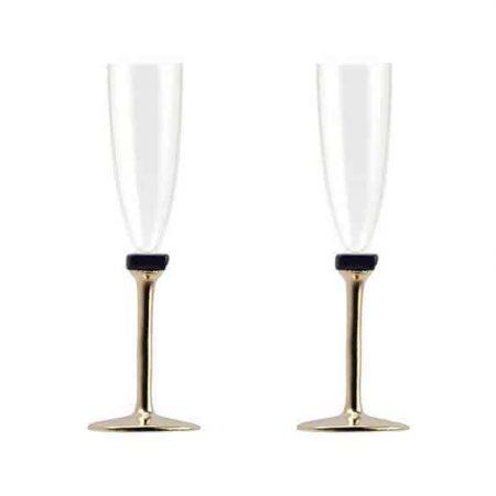 Janet champagne glasses set of 2