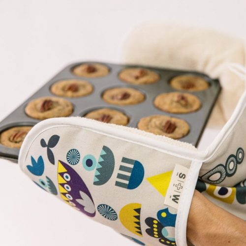 Winter Solstice Oven Mitt