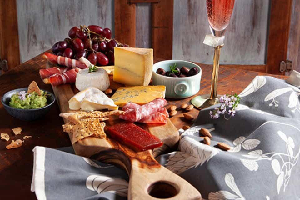 Easter brunch cheese platter