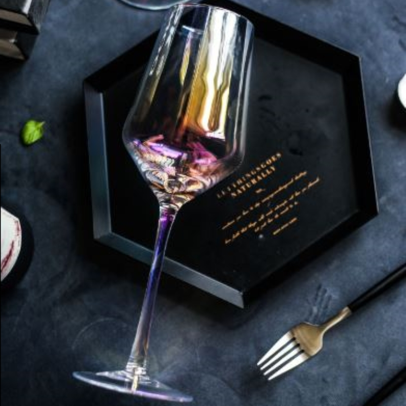 Lumière Arrosée- L set of 4 wine glasses